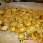 Patate novelle gratinate al forno