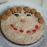 un  sorriso al cheese cake caffè