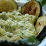 pesti – n.1 alle zucchine arrosto e ricotta affumicata, n.2 cetrioli sottaceto e pistacchi