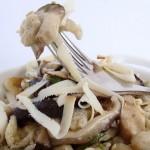 spatzle al grano saraceno e shiitake