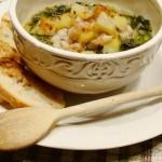 minestra di scarola e patate