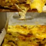 frittata al forno alle due ricotte e funghi