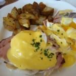 uova alla benedict di New York