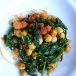 ceci e spinaci alla sivigliana (Spagna)