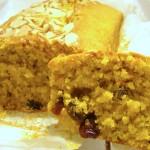 plum cake di zucca e cranberries