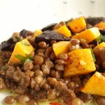 carote nere in zuppetta o crema vegetariana
