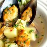 C come chioggia, peoci e patate a la ciosota – Veneto