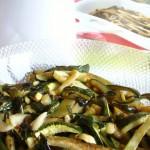zucchine in carpione piemontese