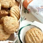 biscotti al burro di mandorle e sciroppo d'acero senza…