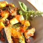 zucchine al sugo e olive