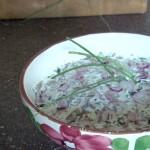 Suomalainen sienisalaatti – insalata finlandese ai funghi