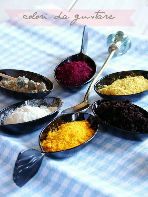 polveri colori e aromi