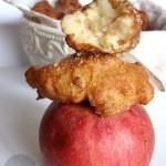 fritole de pomi ovvero frittelle di mele
