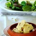 Varškės sūris ovvero formaggio Lituano