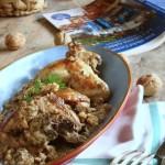 kotòpulo me karides saltsa – pollo alla salsa di noci (Grecia)