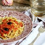 tagliolini di miglio – millet noodles