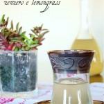 Sciroppo leggero di zenzero e lemongrass