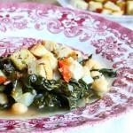 zuppa di cavolo nero ceci e patate