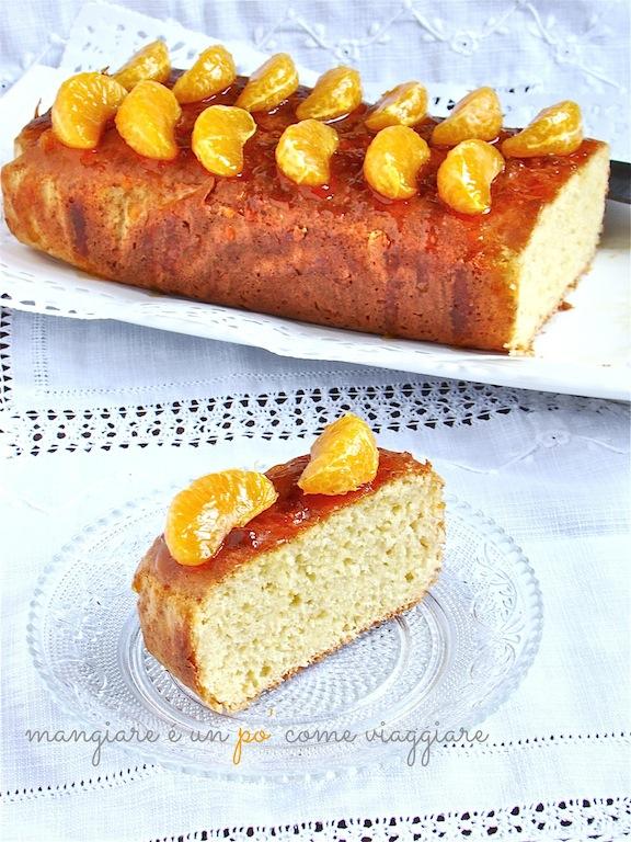 plumcake al mandarino