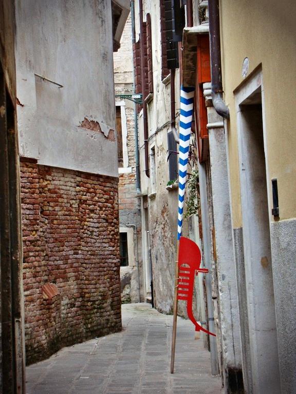 Venezia di maschere e zaleti