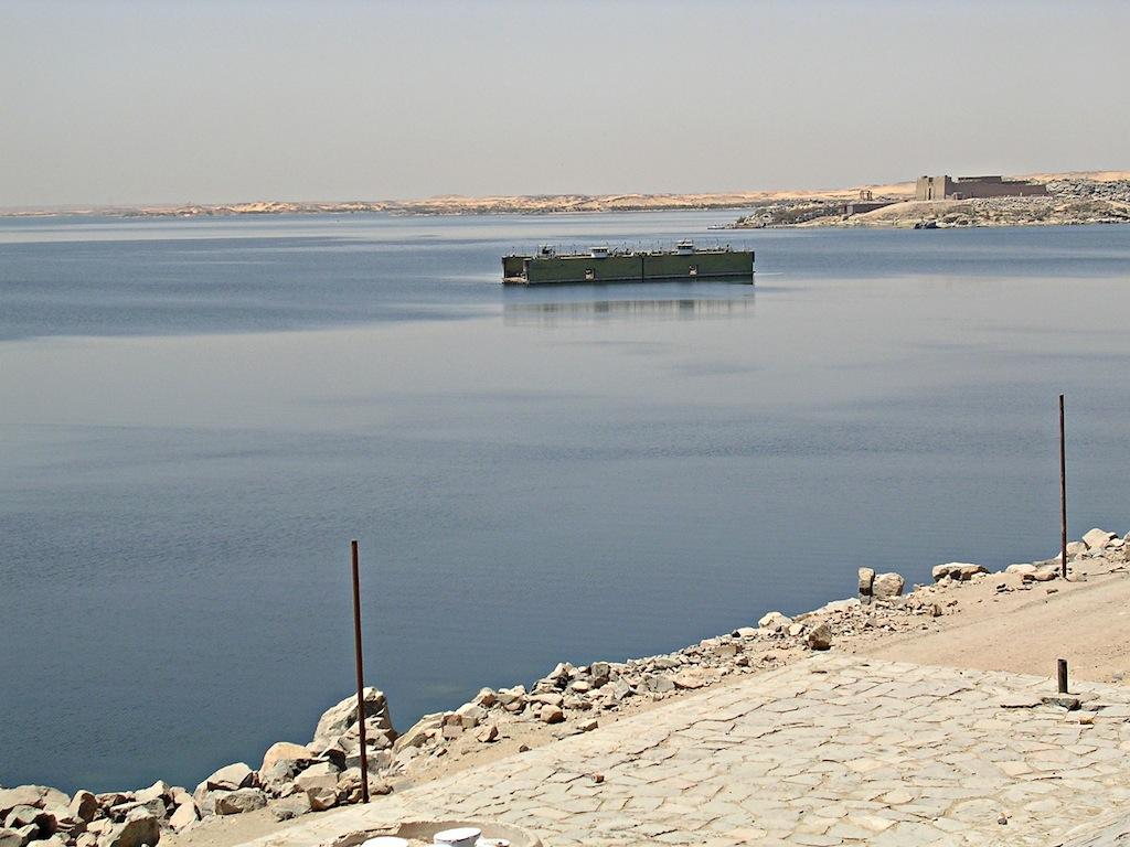 130 diga verso lago Nasser copia