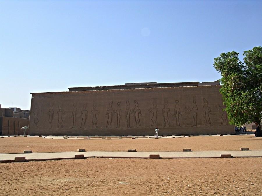 muri di cinta di Edfu