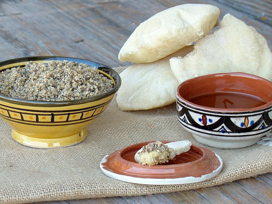 Dukkah snack egiziano