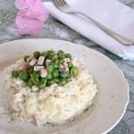 riso piselli e prosciutto