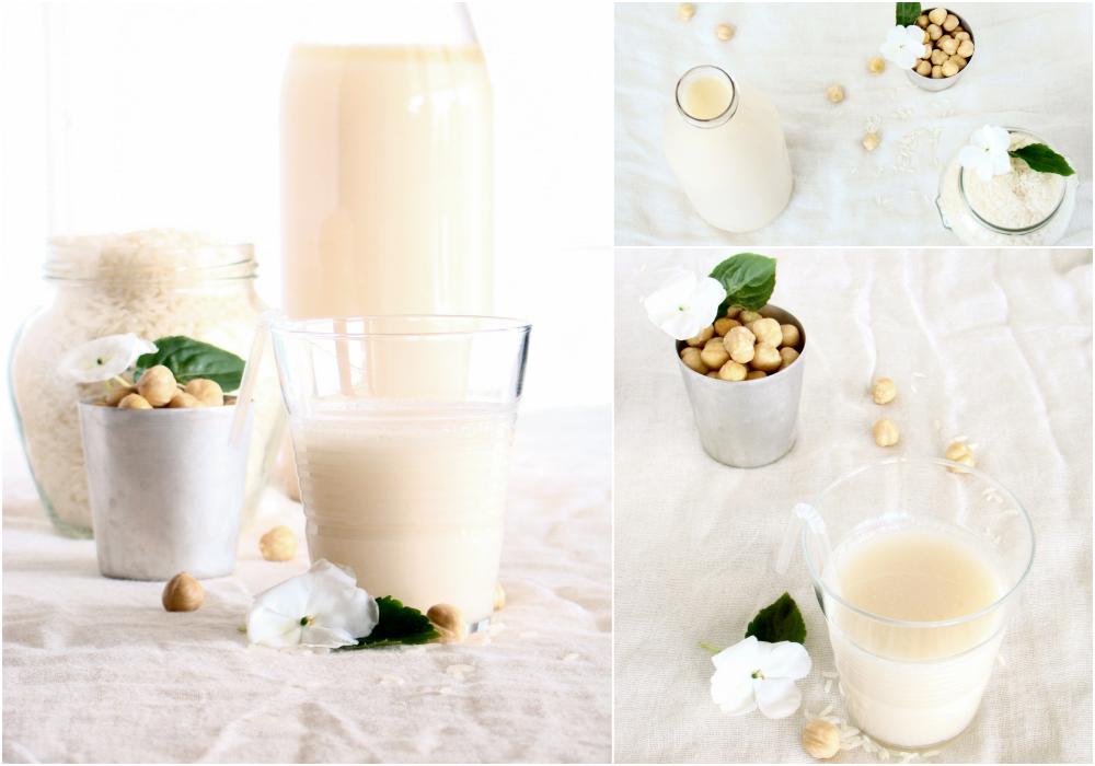 Latte di riso alle nocciole e vaniglia