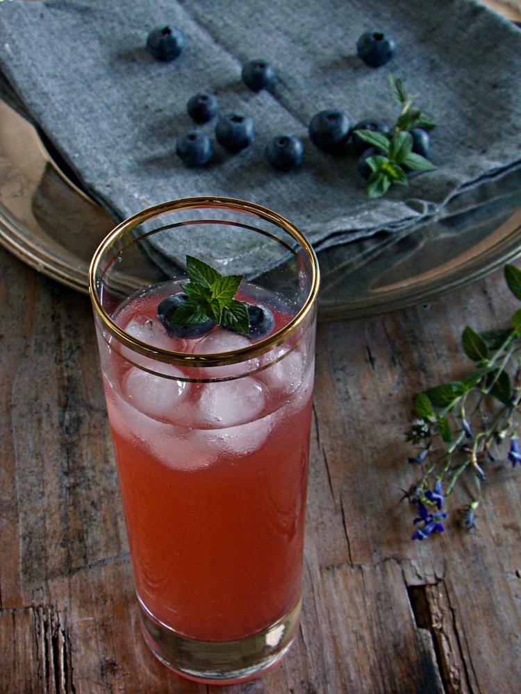 limonata al rabarbaro e lampone