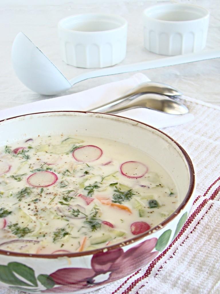 zuppa fredda ucraina