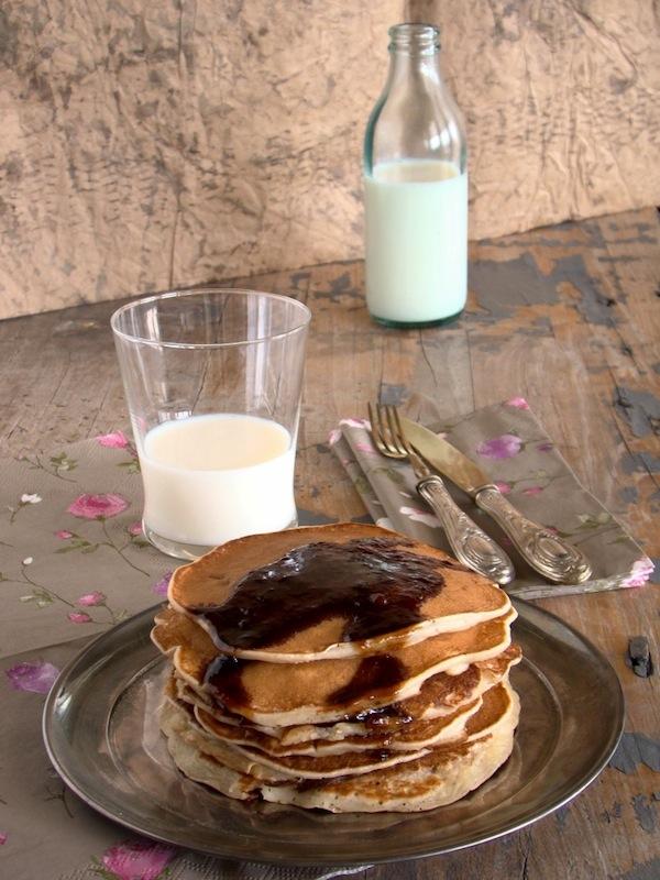 Pancake yogurt
