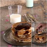 Pancake  yogurt e fiocchi d'avena