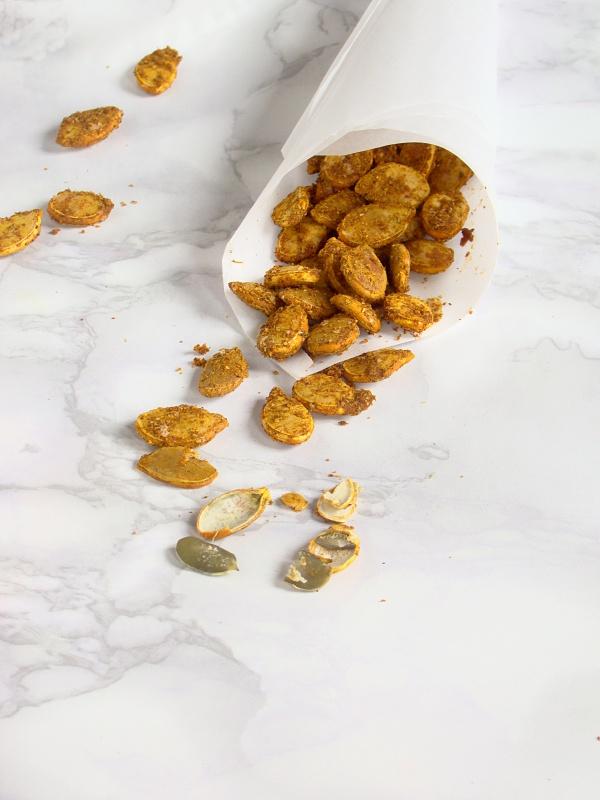 semi di zucca speziati