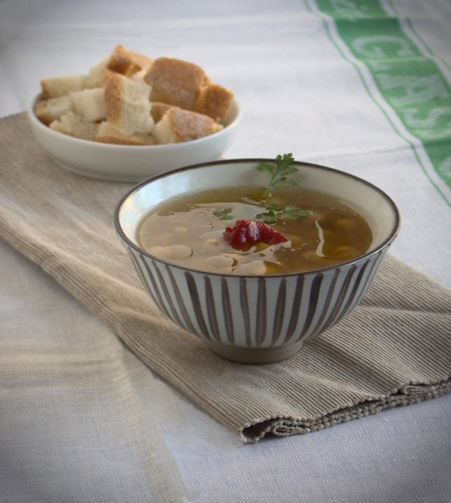 zuppa di ceci tunisina