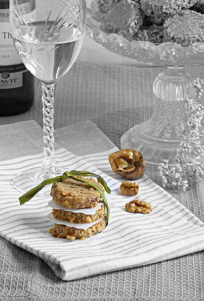 biscotti noci e gorgonzola