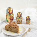 torta di mele russa