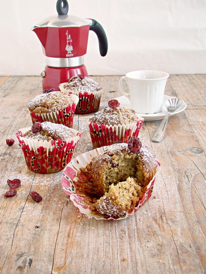 muffins banane castagne mirtilli