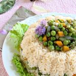 anello di riso alle verdurine – ring of rice with vegetables