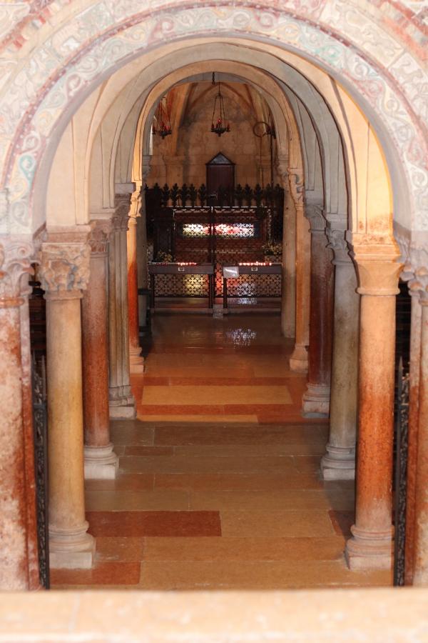 cripta di San Zeno