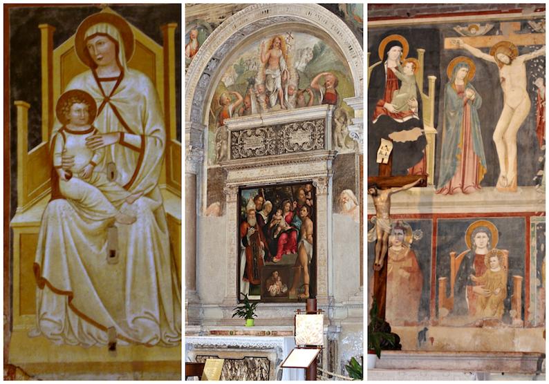 affreschi San Zeno