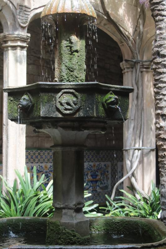 fontana del chiosco : cattedrale