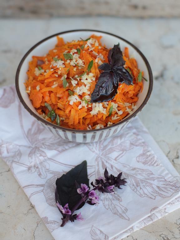 carote al cocco