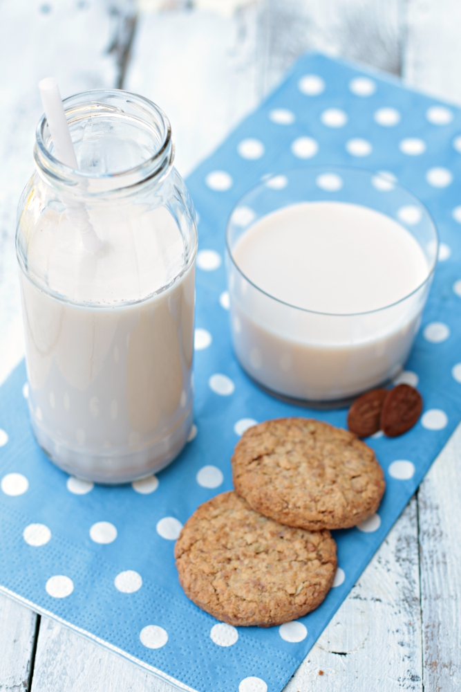latte di mandorle home made