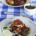 Pollo in gremolada ai pomodori secchi