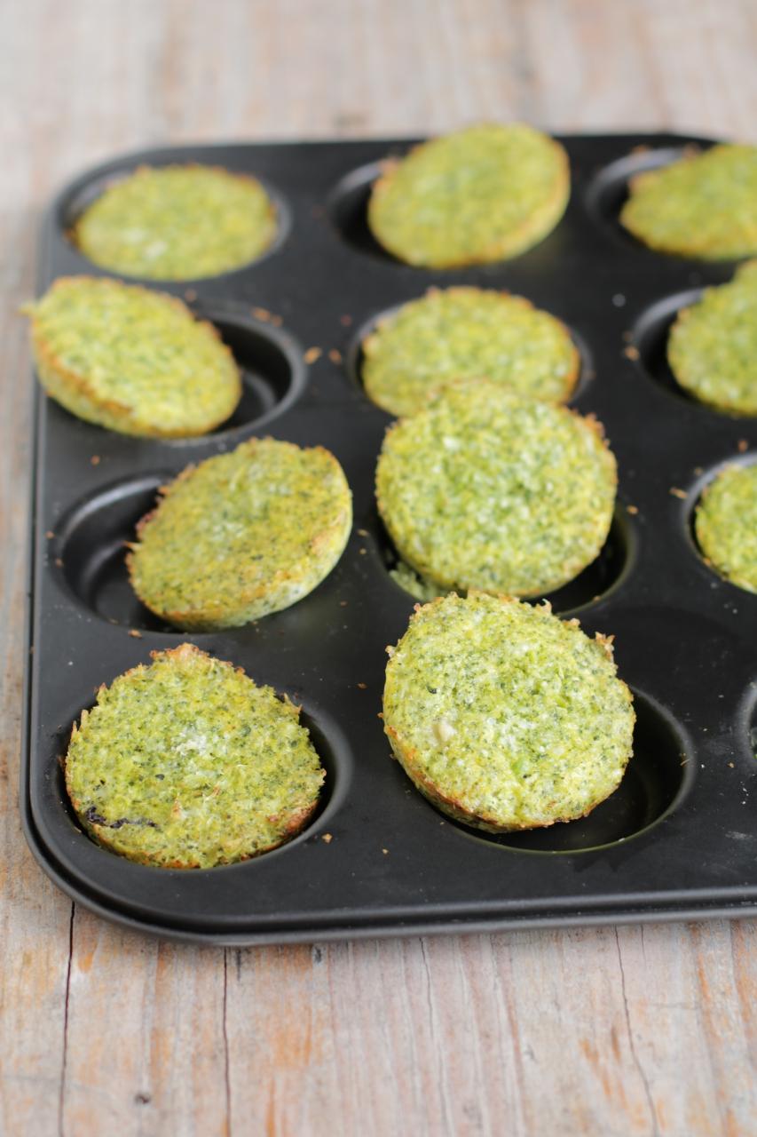 Frittelle di broccoletti al forno