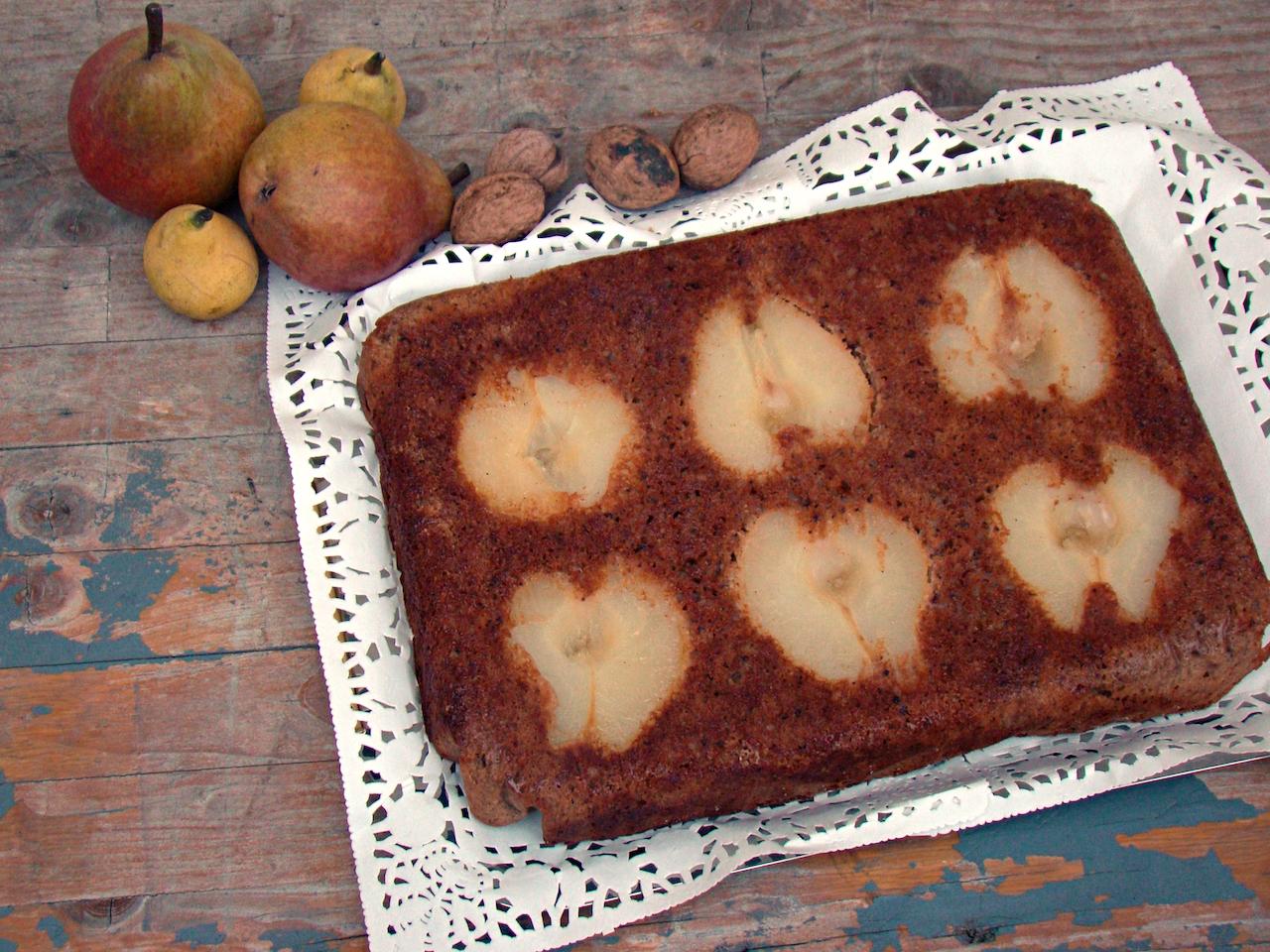 torta alle pere gluten free