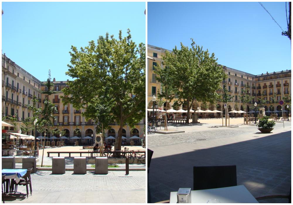 Girona piazza-indipendenza