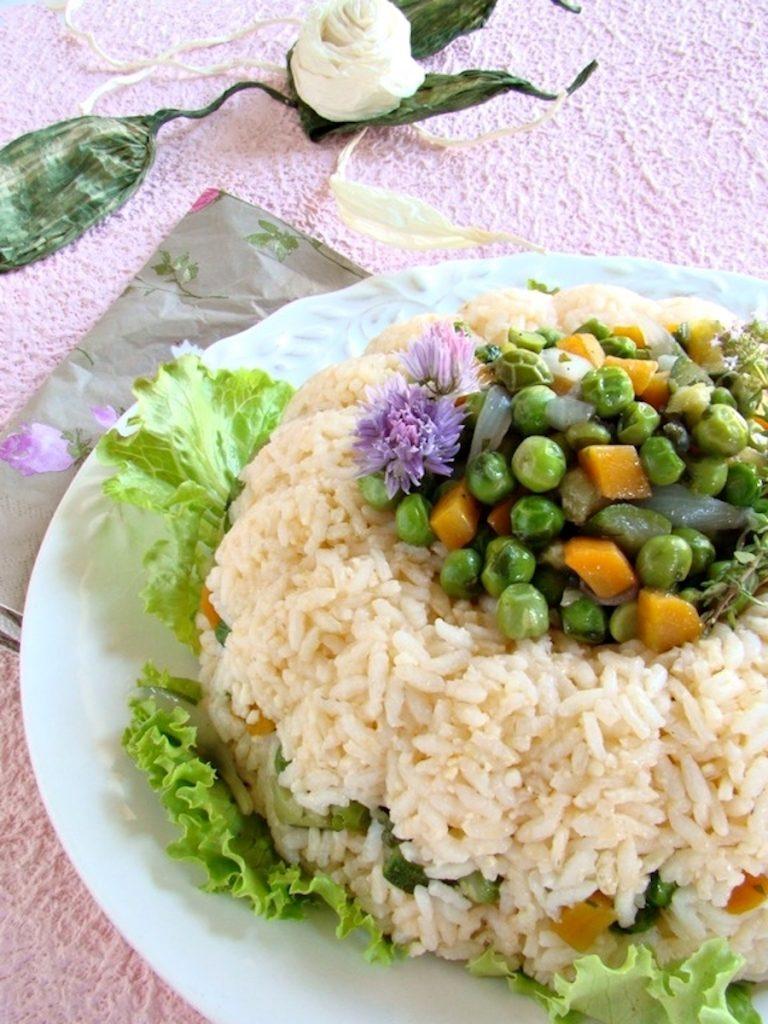 anello di riso alle verdurine