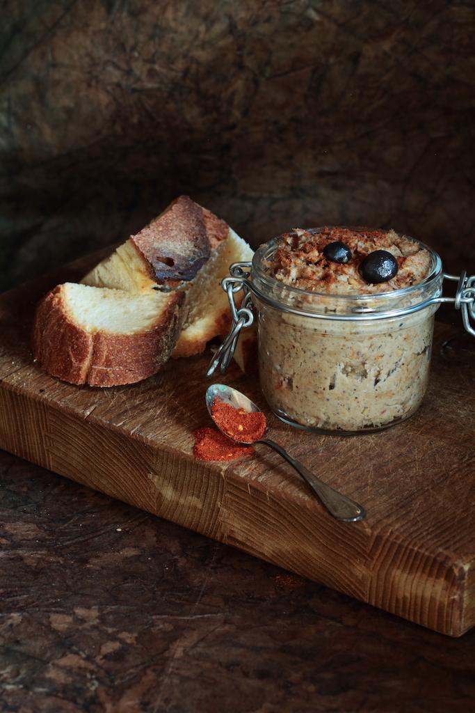 patè vegan castagne e funghi